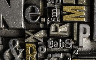 Graphisme et typographie : découvrez toutes les tendances 2019 !