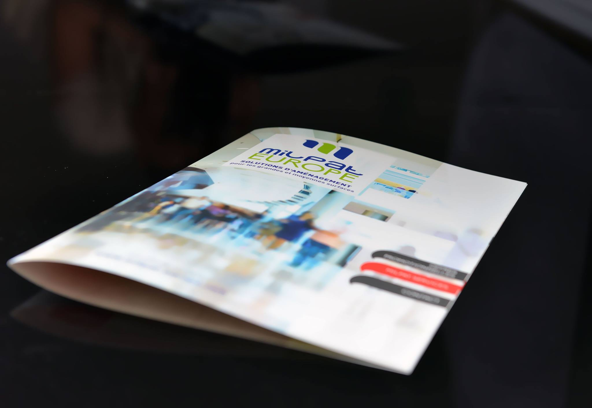 Création brochure Milpat